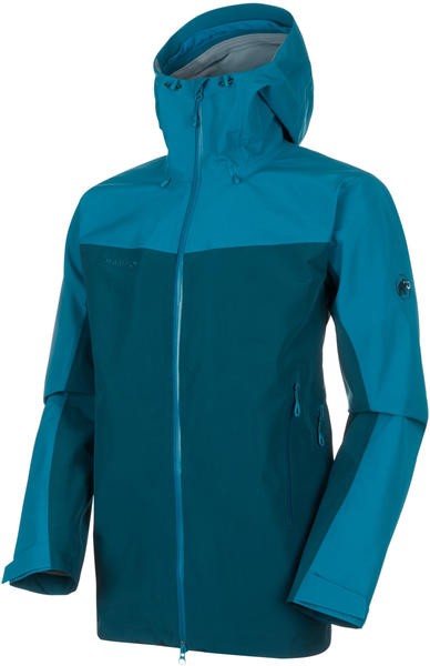 Mammut Crater HS Hooded Jacket Men (1010-21751) wing teal-sapphire