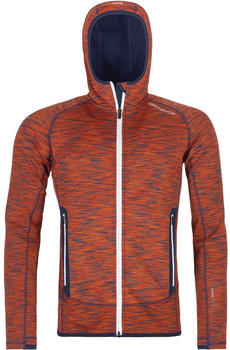 Ortovox Fleece Space Dyed Hoody M crazy orange blend (86984-20901)