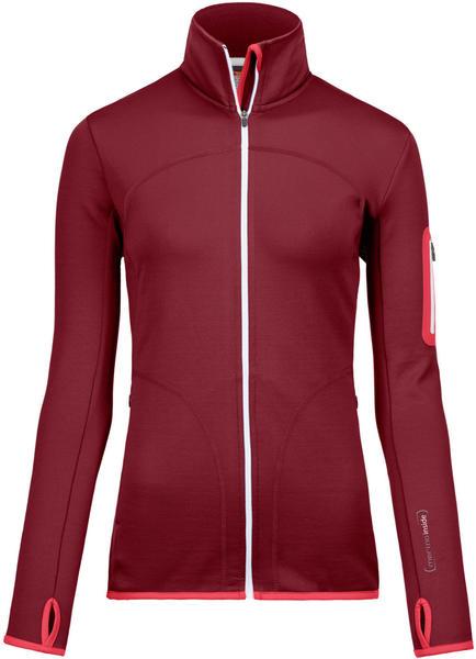 Ortovox Merino Fleece Jacket Women dark blood (87013-329)