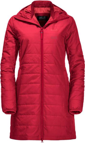 Jack Wolfskin Maryland Coat ruby red
