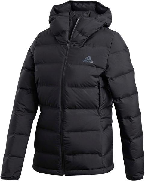 Adidas Helionic Down Hooded Jacket Women black