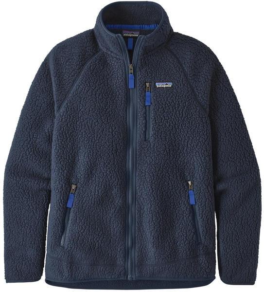 Patagonia Men's Retro Pile Fleece Jacket new navy