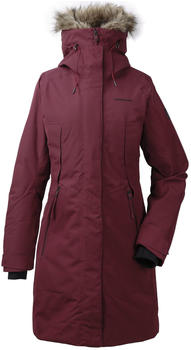 Didriksons Mea Women's Parka anemon red