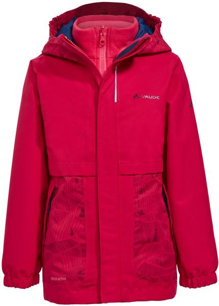 VAUDE Kids Campfire 3in1 Jacket Girls (40604_990) crocus/pink