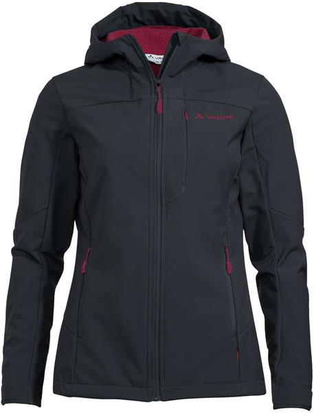 VAUDE Women's Miskanti Softshell Jacket II (41763_678) phantom black