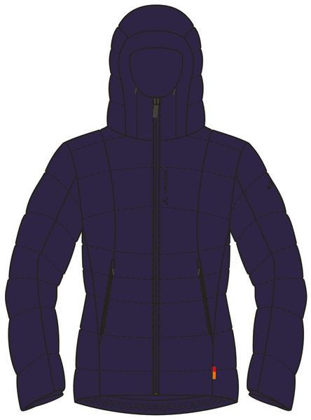 VAUDE Women's Vesteral Hoody Jacket II (40317_750) eclipse