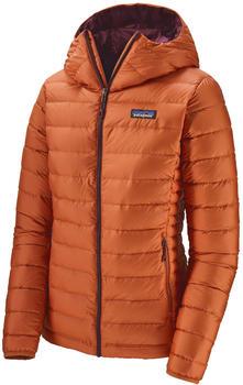 patagonia-womens-down-sweater-hoody-sunset-orange