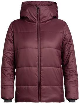 Icebreaker Women's Collingwood Hooded Jacket velvet