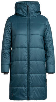 Icebreaker Women's Collingwood 3Q Hooded Jacket nightfall