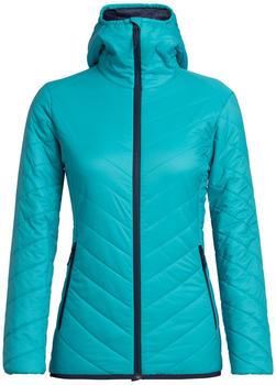 Icebreaker Women's MerinoLOFT Hyperia Hooded Jacket actic teal (103931-436)