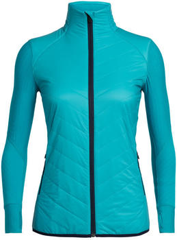 Icebreaker Women's MerinoLOFT Descender Hybrid Jacket arctic teal (104282-436)