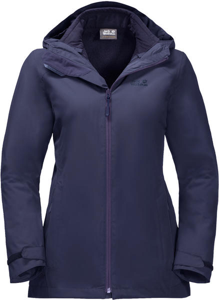 Jack Wolfskin Norrland 3In1 Women dark plum