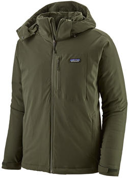 Patagonia Men's Insulated Quandary Jacket Alder Green
