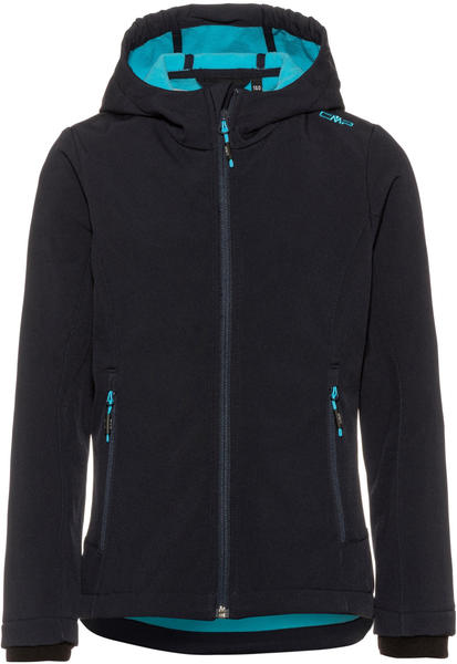 CMP Girls Softshell Jacket (3A29385N) Blue Turchese