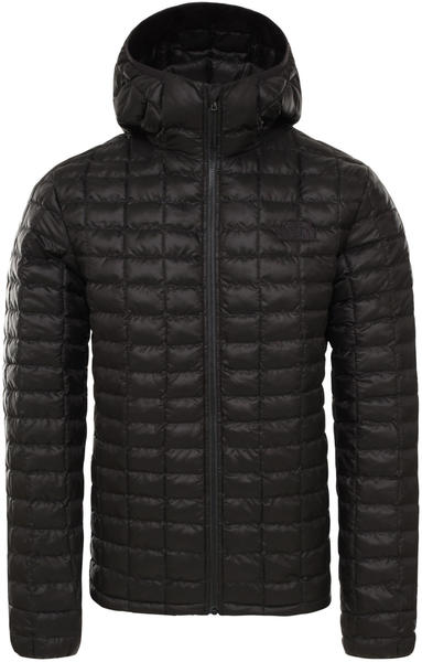 The North Face Mens ThermoBall Eco Hoodie black matte