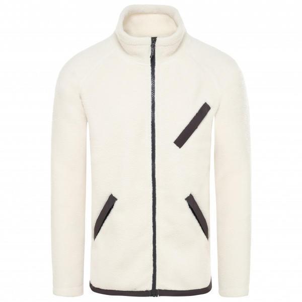 The North Face Cragmont Fleece FullZip Jacket vintage white