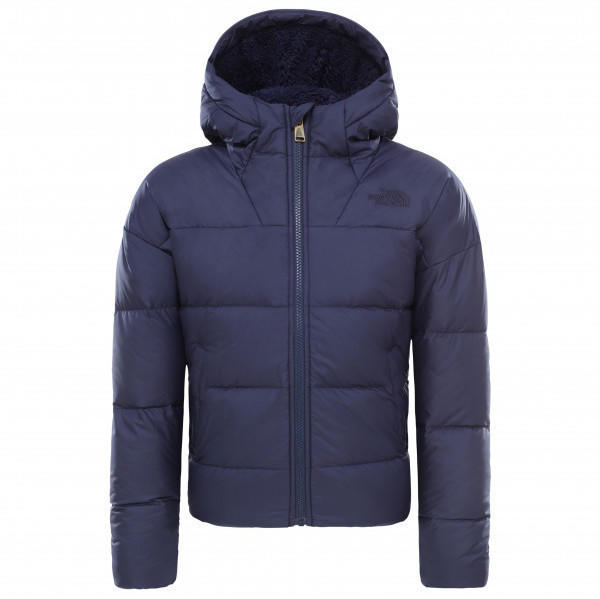 The North Face Girl's Moondoggy Down Jacket montague blue