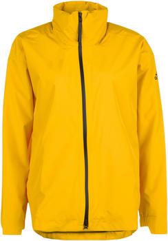 Adidas Women's Urban Climaproof Rain Jacket active gold (DZ1491)