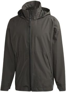 Adidas Men's Urban Climaproof Rain Jacket legend earth (DZ1390)