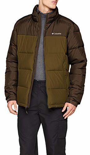 Columbia Pike Lake Jacket olive brown/olive green