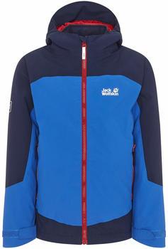 Jack Wolfskin Ropi 3in1 Jacket Boys coastal blue