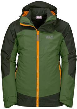 Jack Wolfskin Ropi 3in1 Jacket Boys deep forest