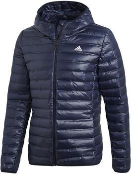 Adidas Varilite Down Hooded Jacket Men legend ink (DX0785)