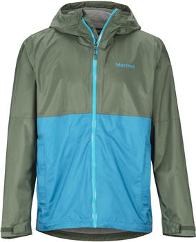 Marmot PreCip Eco Plus Jacket crocodile/turkish tile