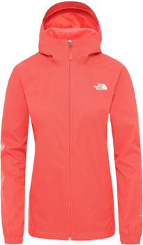 The North Face Quest Jacket Women (A8BA) cayenne red black heather