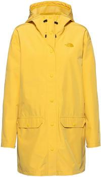 The North Face Woodmont Rain Jacket Women bamboo yellow