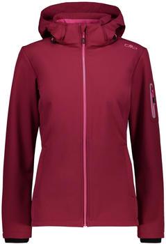 CMP Softshell Jacket Zip Hood Women (39A5006) goji