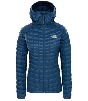 The North Face Thermoball Hoodie Jacket Women blue wing teal