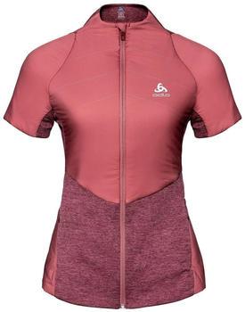 Odlo Women's Millennium S/Thermic Vest roan rouge