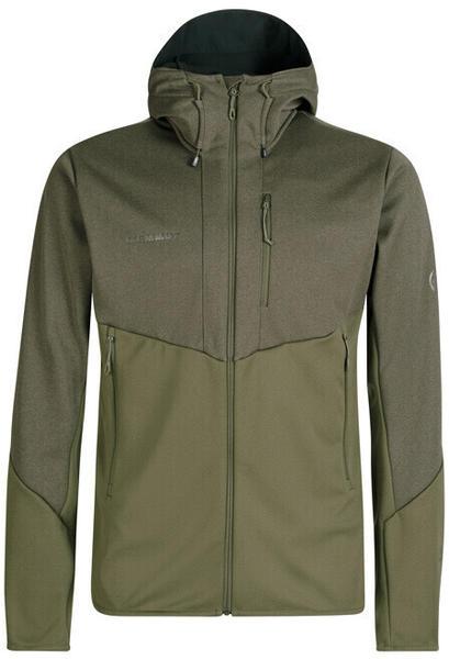 Mammut Ultimate VI SO Hooded Jacket (1011-01230-40097) iguana-iguana melange