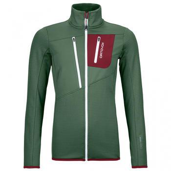 Ortovox Fleece Grid Jacket W (87202) green forest