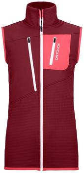 Ortovox Fleece Grid Vest W ( 87203) dark blood