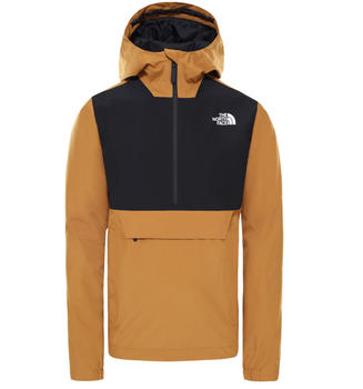 The North Face Men's Packable Waterproof Fanorak Jacket timber tan