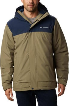 Columbia Horizon Explorer Jacket Men stone green/collegiate navy