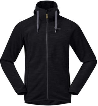 Bergans Hareid Fleece Jacket black melange