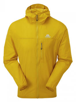 Mountain Equipment Aerofoil Full Zip Jacket (4616) sulphur