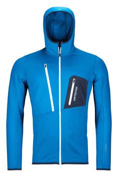 Ortovox Fleece Grid Hoody Men (87211) safety blue