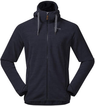 Bergans Hareid Fleece Jacket dark navy mel