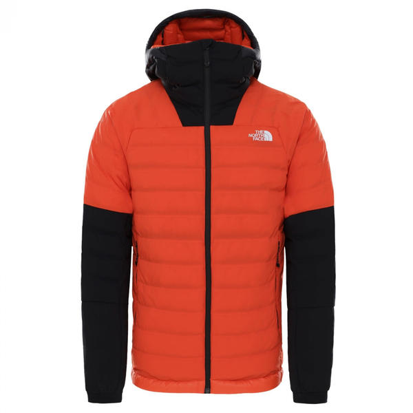 The North Face Summit L3 50/50 Down Hoodie Men flare/tnf black