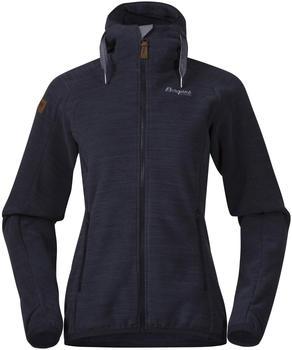 Bergans Hareid Fleece W Jacket dark navy melange