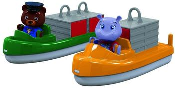 Aquaplay Container- und Transportboot für Wasserbahn