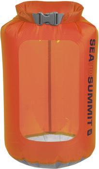 Sea to Summit Ultra-Sil View Dry Sack 4L orange
