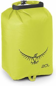 Osprey Ultralight Drysack 20L electric lime