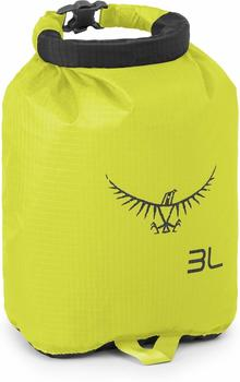 Osprey Ultralight Drysack 3L electric lime