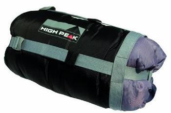 High Peak Compression Bag L black/grey