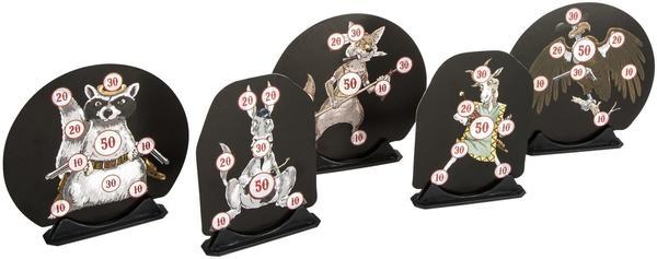 DAGRECKER Design Target Western Motiv inklusive 5 Halter, DG007
